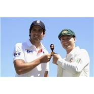 2013 Ashes captains Alastair Cook and Michael Clarke