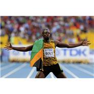 Usain Bolt wins World Championship Gold 200m Moscow 2013